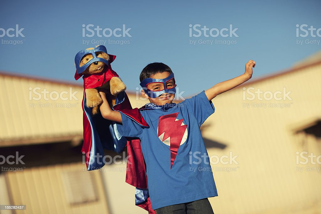 Super Friends royalty-free stock photo