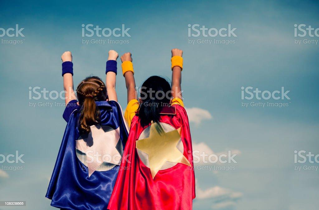Super femminili Duo - foto stock