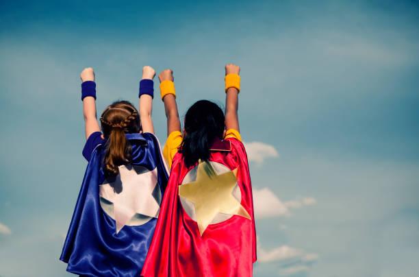 super femminili duo - team foto e immagini stock