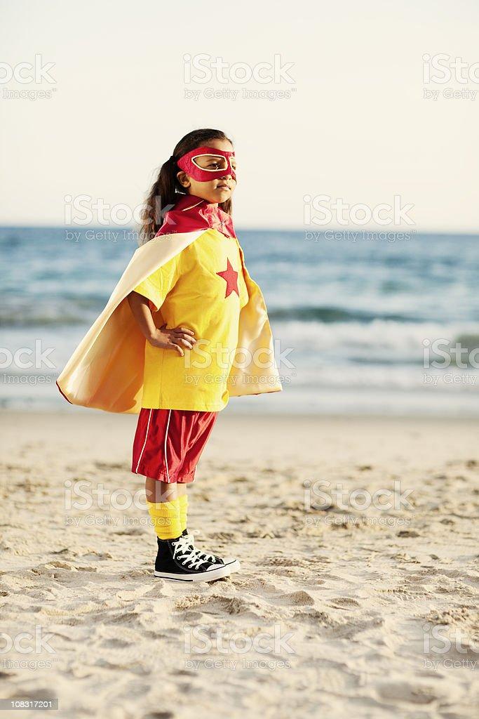 Super Girl royalty-free stock photo