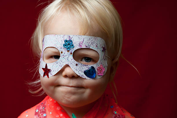 super de rapariga! - baby super hero imagens e fotografias de stock