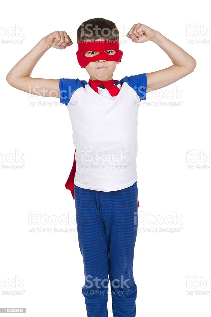 Super Hero Muscles royalty-free stock photo
