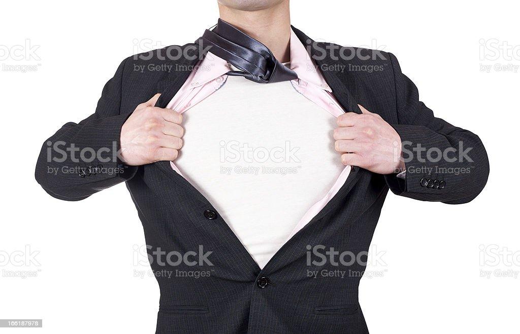 super hero royalty-free stock photo