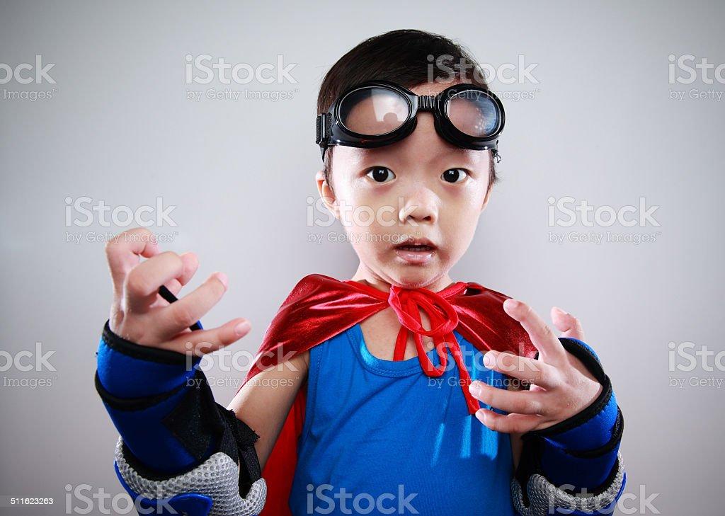 Cute asia children