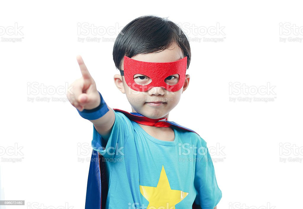 Super hero royalty-free stock photo