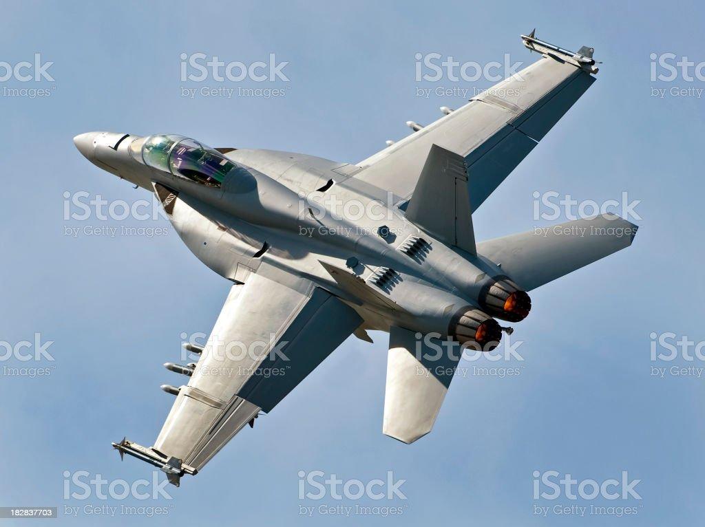 F18 Super Hornet stock photo