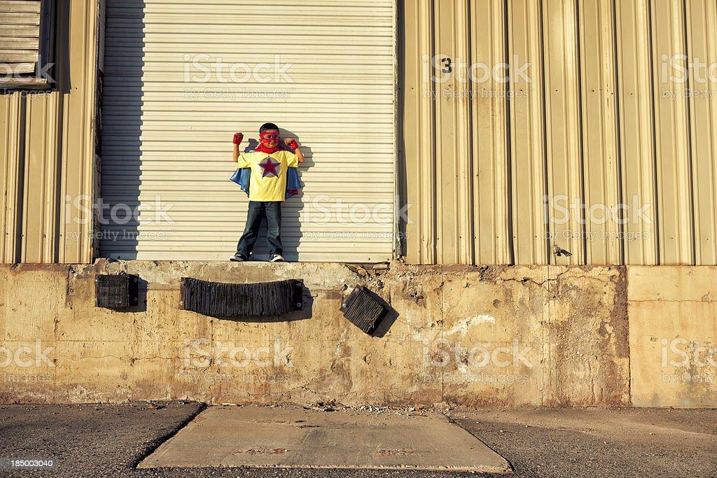 Super Kid Lizenzfreies stock-foto