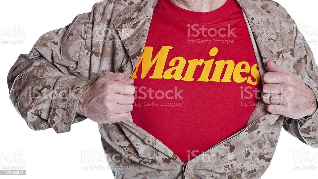 Super Marine royalty-free stock photo