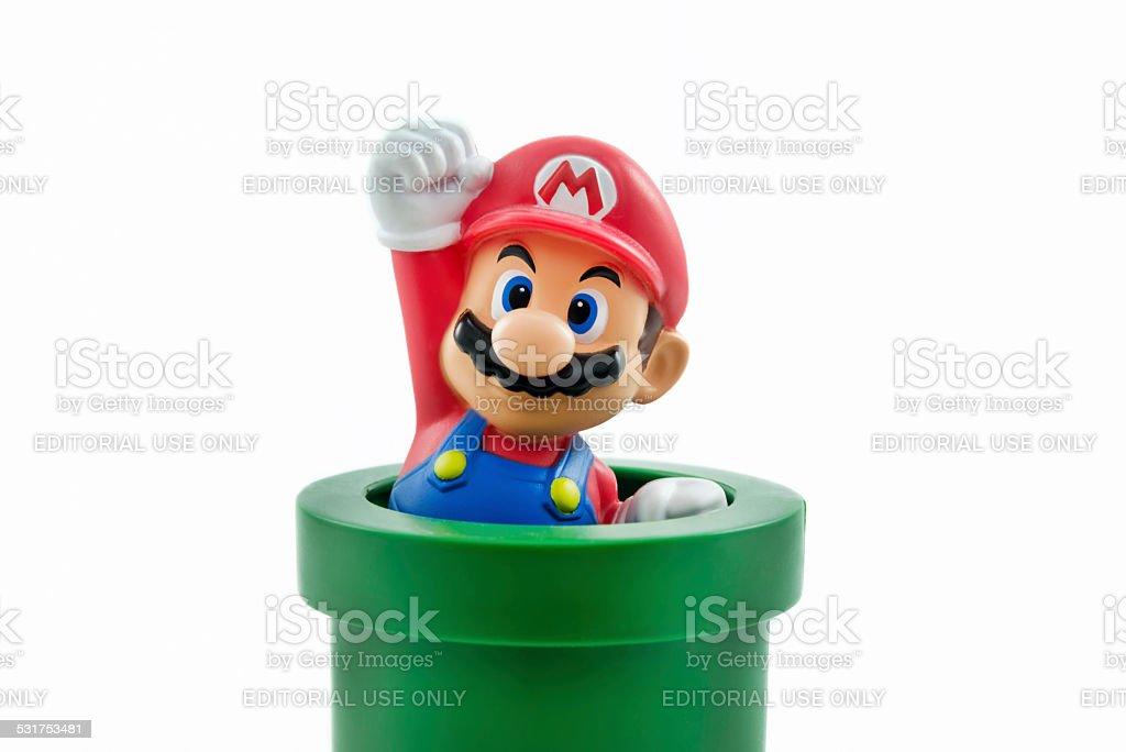 Super Mario stock photo