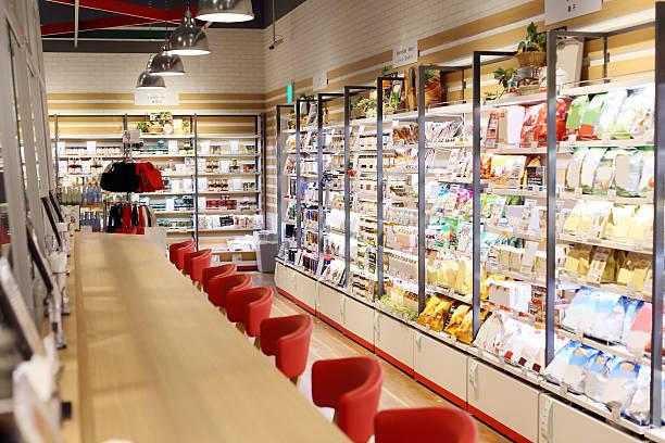 super marquette showcase - kühlraum stock-fotos und bilder