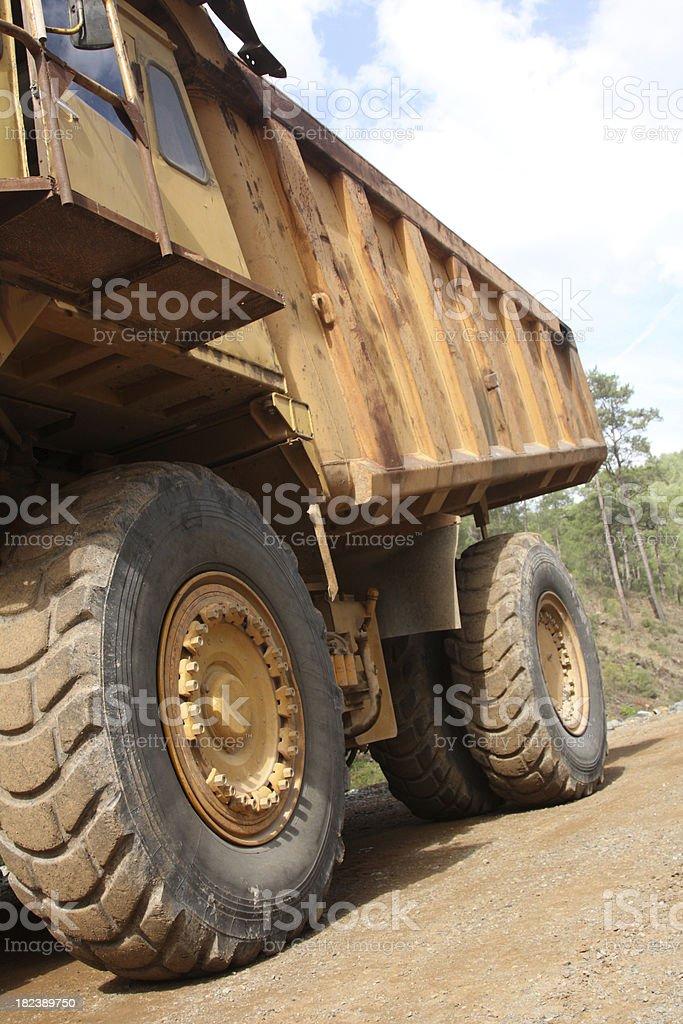 Super mine truck royalty-free stock photo