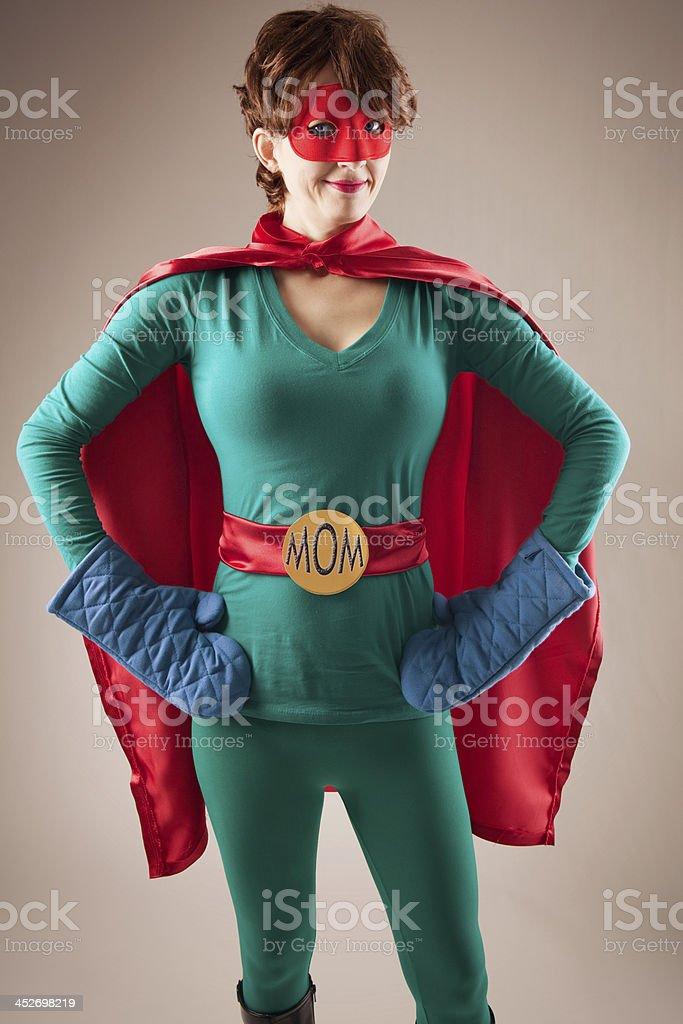 Super Mom stock photo
