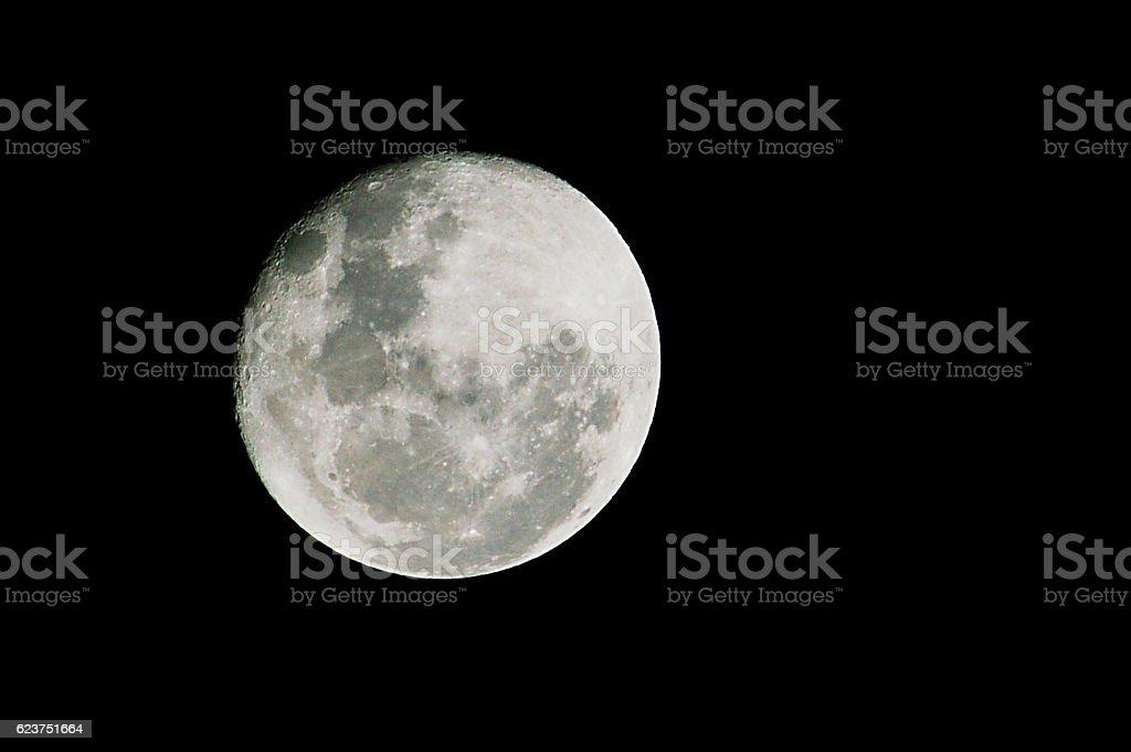 Super Moon - Full Moon in a clear sky
