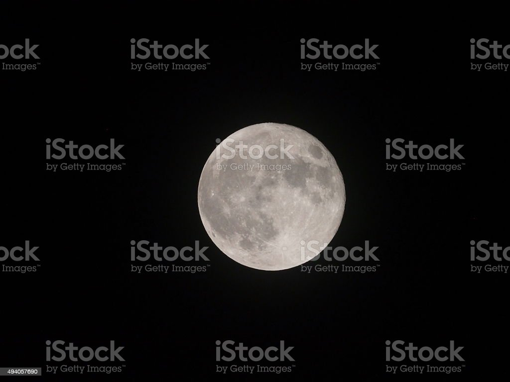Super Moon in September 2015,closest and brightest super moon of the...