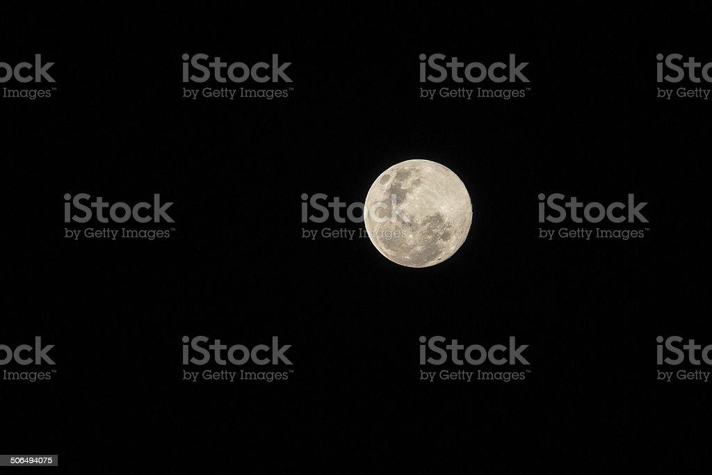 Super Moon, 11 Aug 2014