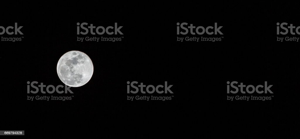 Midnight Super Moon