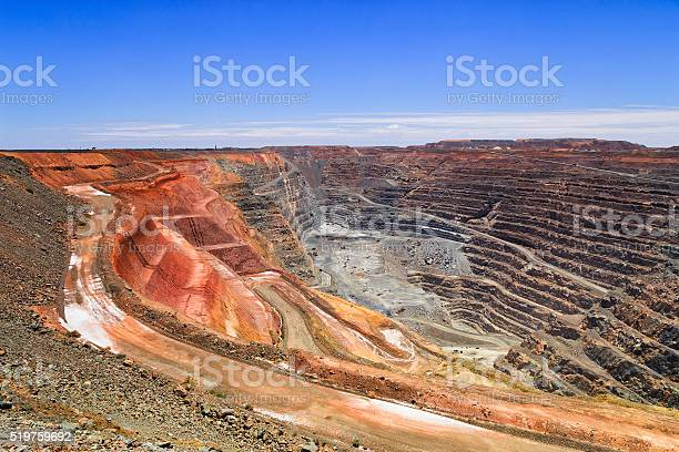 Wa Super Pit Hor Sky Stock Photo - Download Image Now
