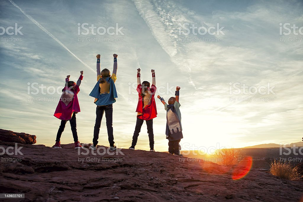 Super Power stock photo