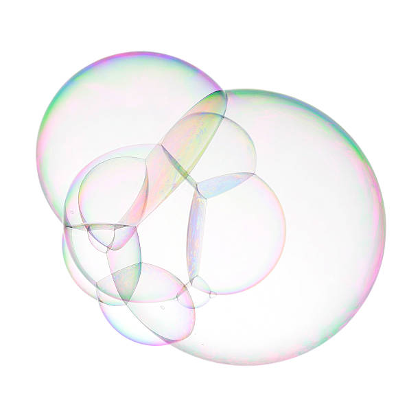 Super soap bubble stock photo