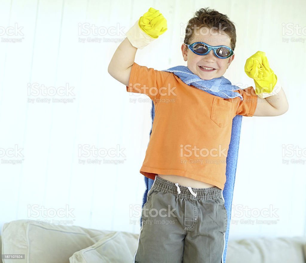Super Strength is my power royalty-free stock photo