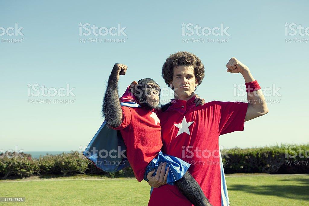 Super Team royalty-free stock photo