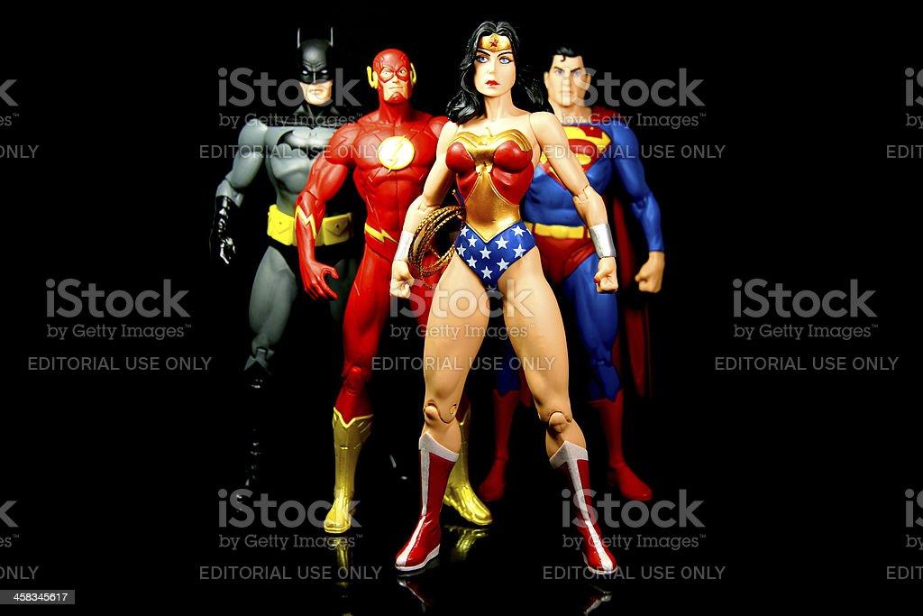 Super Team - foto stock