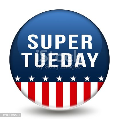 507831160 istock photo Super Tuesday in the United States of America - presidential primary season 1209655591