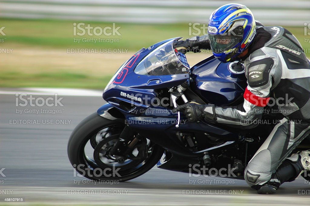 Superbike royalty-free stock photo