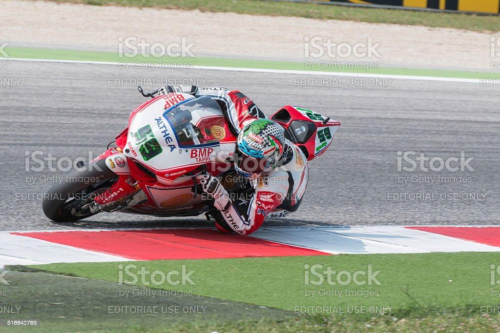FIM Superbike World Championship - Free Practice 3th Session stock photo