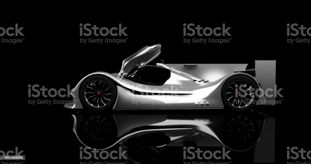 supercar, lemans prototype stock photo