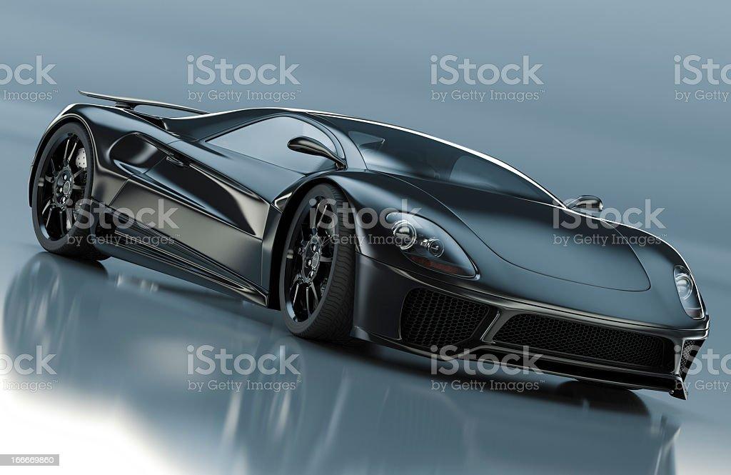 Supercar stock photo