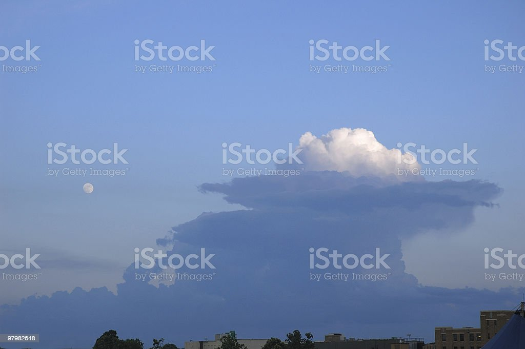 Supercell royalty-free stock photo