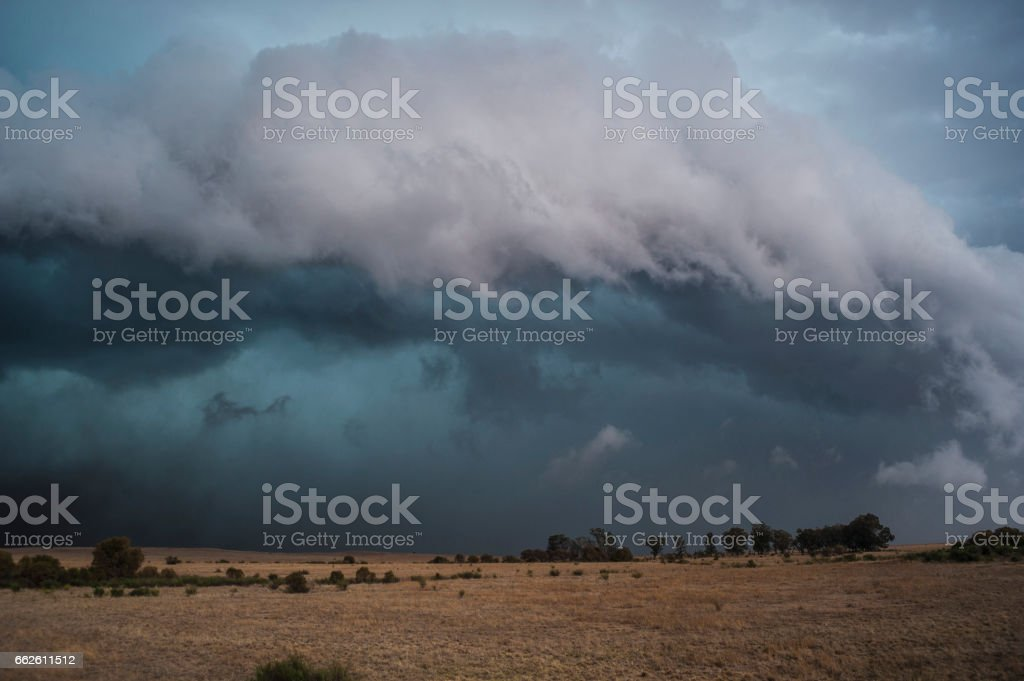 Supercell Thunderstorm, stock photo