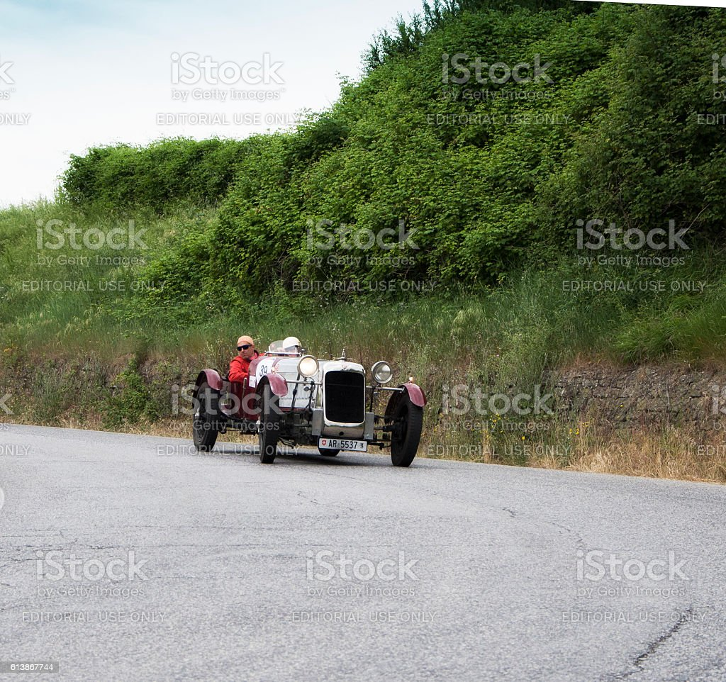 ALVIS FWD Supercharged 1928 stock photo
