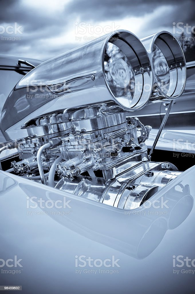 supercharger stock photo