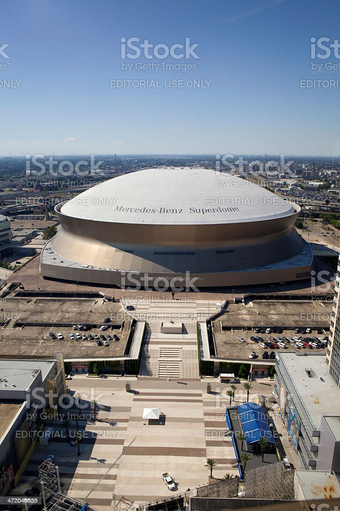 Superdome - New Orleans, Louisiana royalty-free stock photo