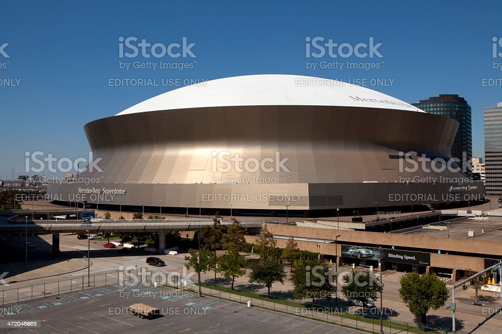 Superdome - New Orleans, Louisiana stock photo