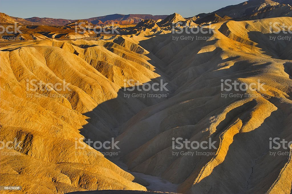 Superficial canyon. royalty-free stock photo