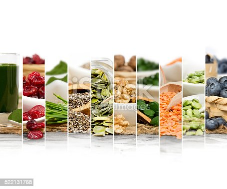 istock Superfood Mix Slices 522131768