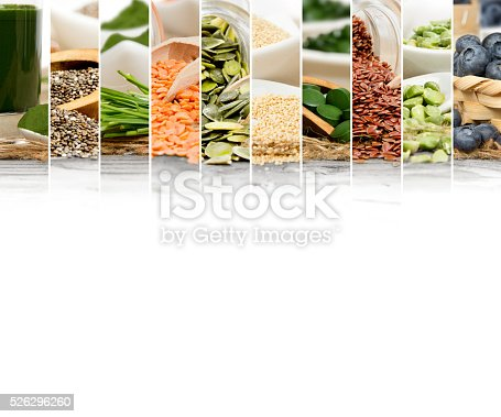 istock Superfood Mix Slices 526296260