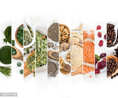 istock Superfood Mix Slices 623717140