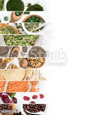 istock Superfood Mix Slices 625452778