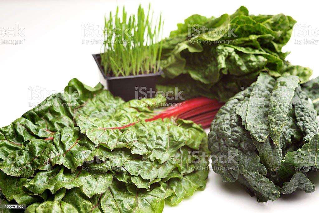 superfood organic natural vegetable greens royalty-free stock photo
