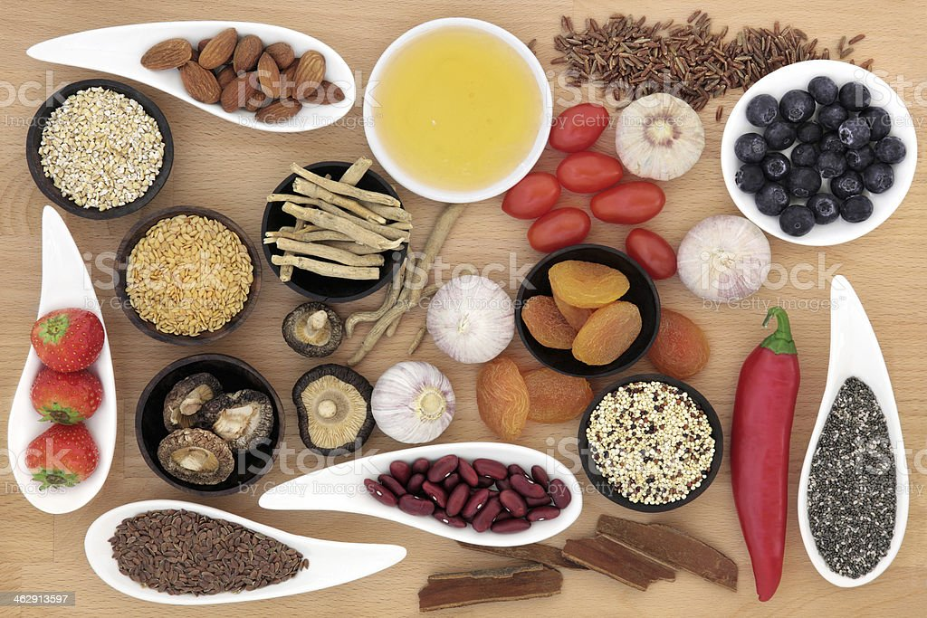 Superfood stock photo