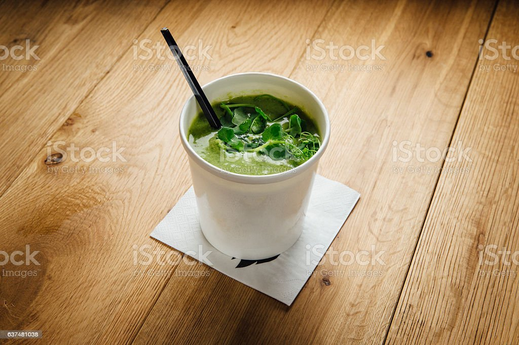 Superfood Soup stock photo