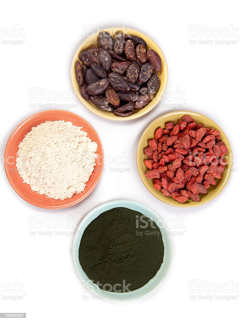 Superfoods royalty-free stock photo