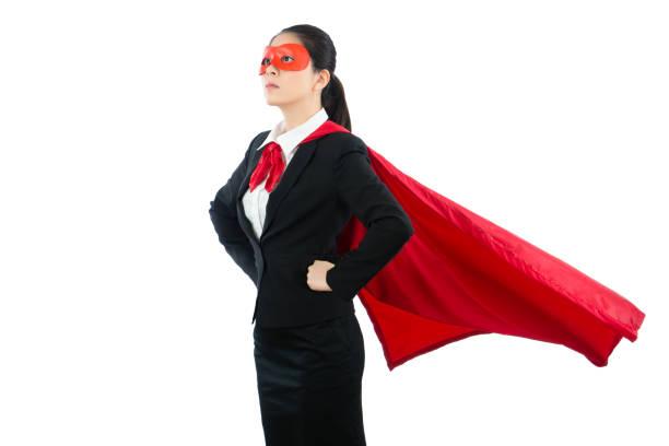 superhelden-anwalt der familie frage speichern - damen umhänge stock-fotos und bilder