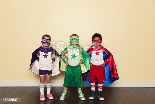 A young superhero team is ready for any challenge.