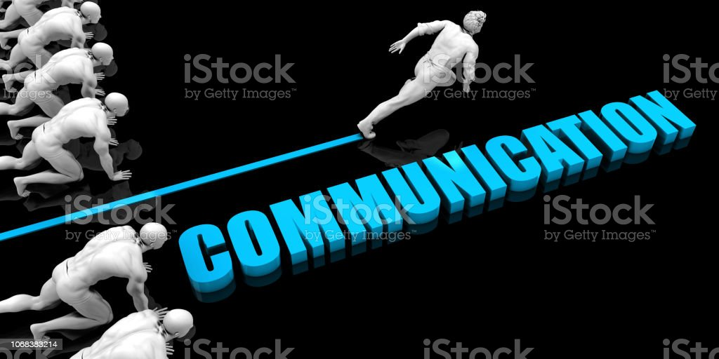 Superior Communication stock photo