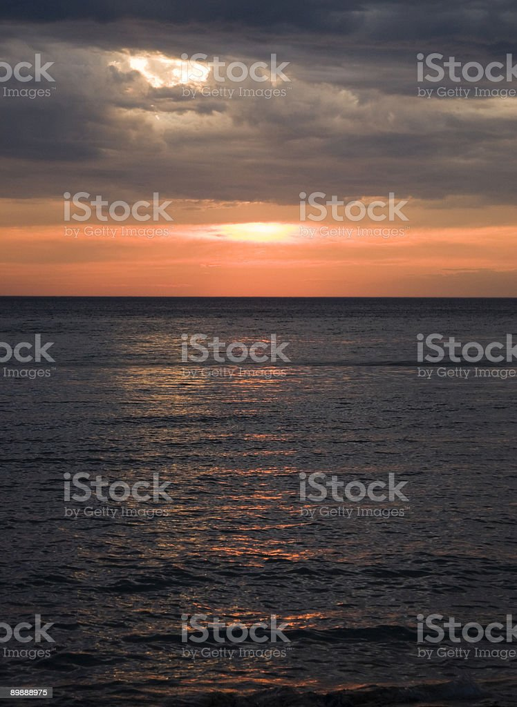 Tramonto Superior 9 foto stock royalty-free